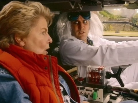 Great British Bake Off goes Back To The Future to address Prue Leith tweet gaffe