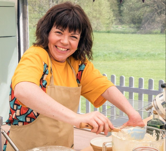 Briony Williams on GBBO