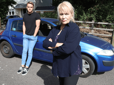 Mum chases thieves who stole son's car and corners them to get keys back