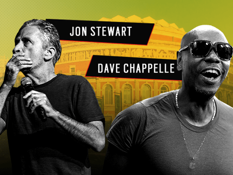 Dave Chapelle and Jon Stewart are bringing their show to the UK – here's how to get tickets