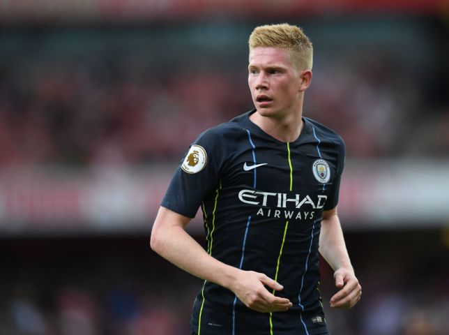 online store f67eb 3967f Kevin De Bruyne injury: What Man City star said after knee ...