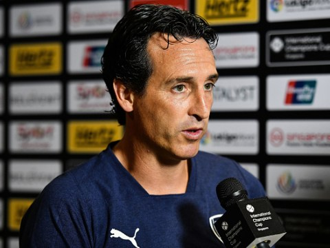 Unai Emery says Arsenal will not play with two strikers up top against West Ham