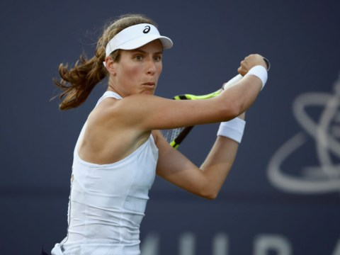 Johanna Konta reacts to stunning win over Serena Williams