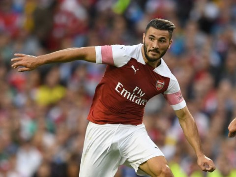 Arsenal star Sead Kolasinac ruled out for ten weeks with knee injury