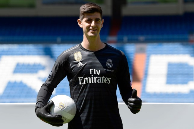 factory authentic dea68 119e5 Real Madrid vs Atletico Madrid: Why Thibaut Courtois will ...