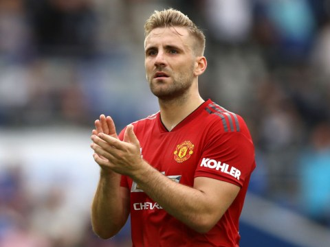 Luke Shaw ready to let Manchester United sweat before committing future to club