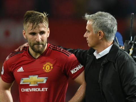 Jose Mourinho praises Luke Shaw's performance in Manchester United loss to Tottenham