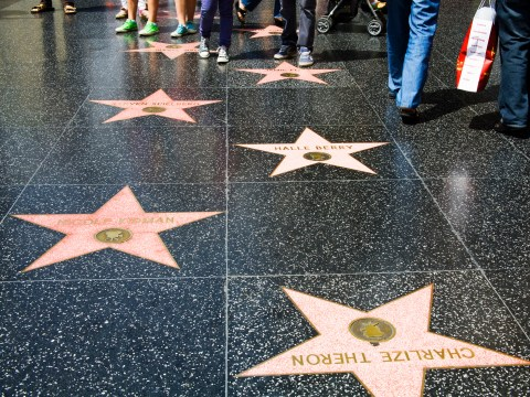 Hollywood Walk of Fame map – a list of the stars lining Hollywood Boulevard