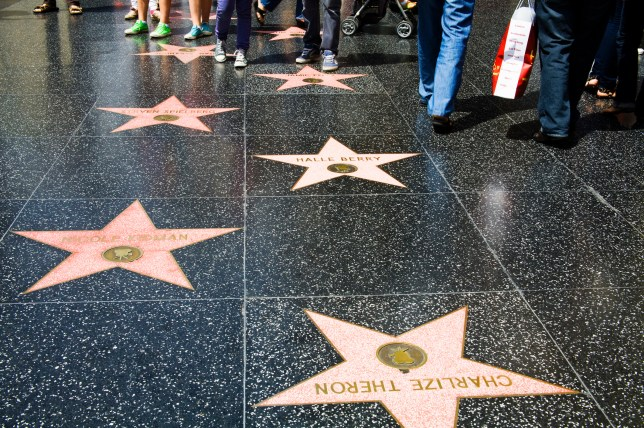 e10a6d2f93e Hollywood Boulevard is littered with stars belonging to famous faces in the  entertainment industry (Picture  Getty)