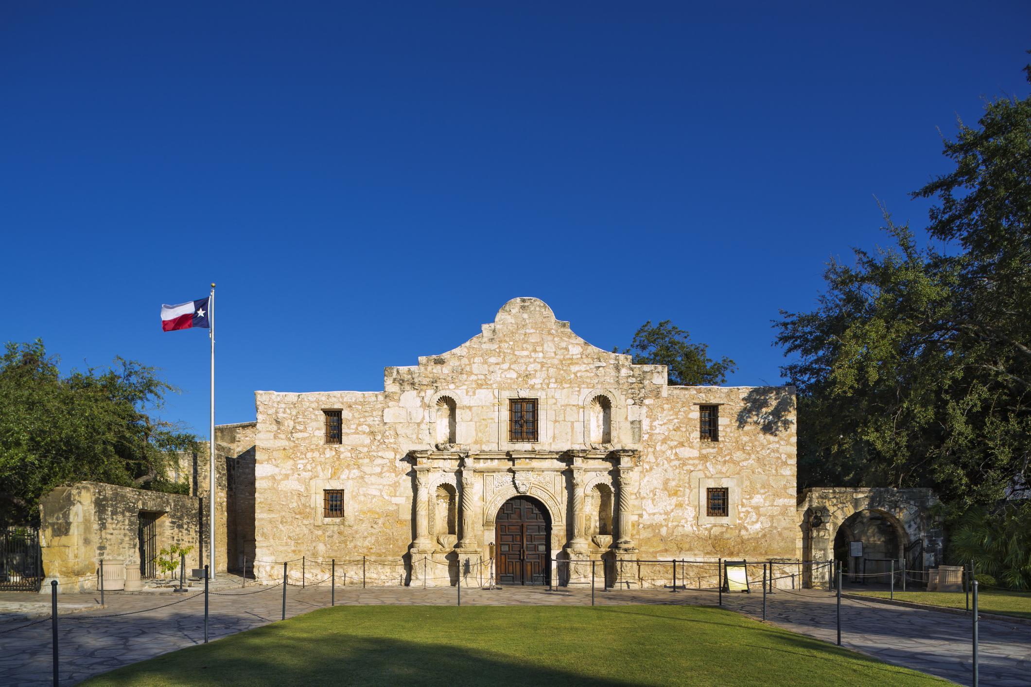 The Alamo in San Antonio (Picture: Getty)