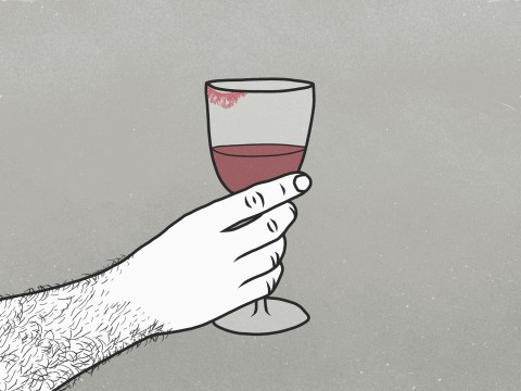 What are the recommended units of alcohol per week and how many units are in a glass of wine?