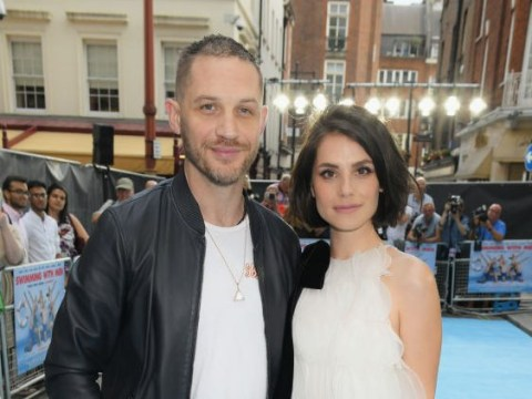 Tom Hardy and wife Charlotte Riley 'welcome baby boy' together as they 'name him after Forrest Gump'