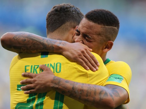 Gabriel Jesus reacts to being snubbed by Brazil in favour of Roberto Firmino