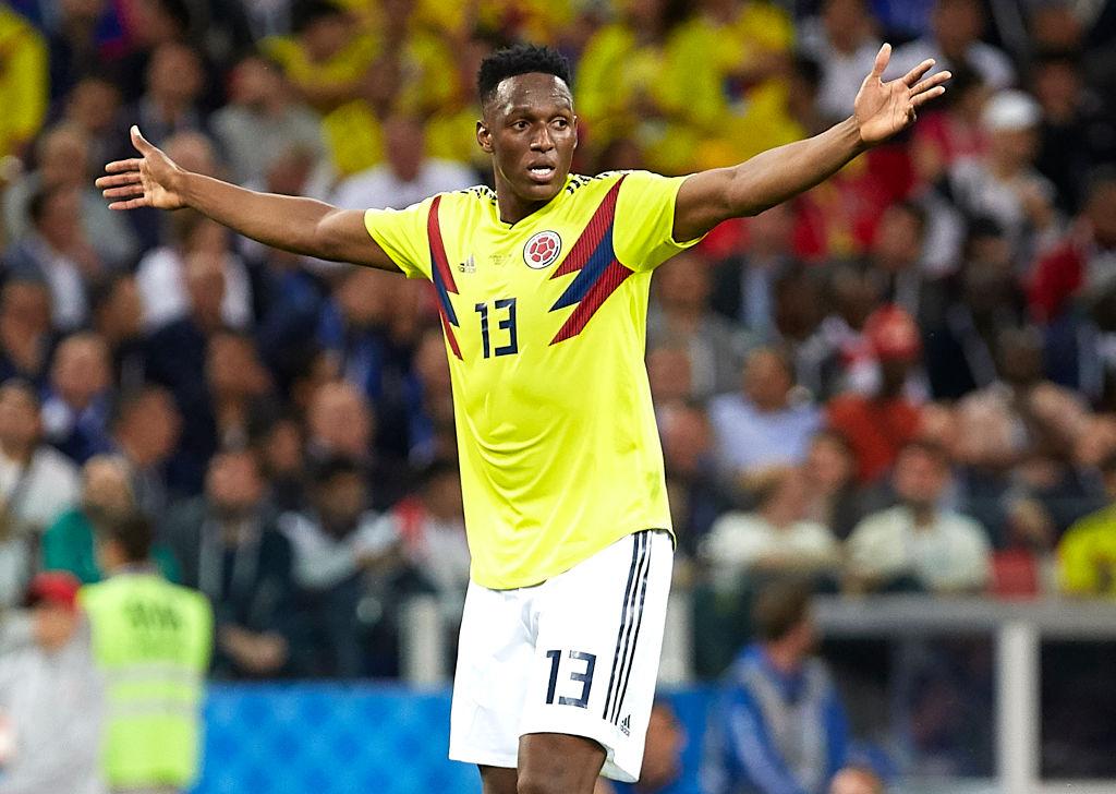 Manchester United target Yerry Mina undergoes Everton medical in Barcelona