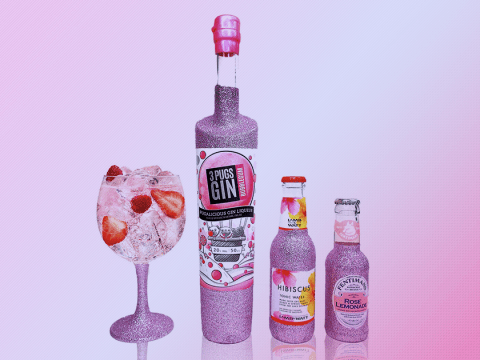 You can now buy glittery gin to jazz up your drinks