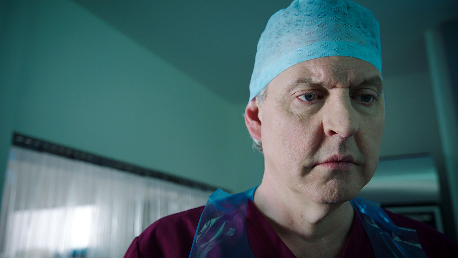 Sacha reaches the end of the line in Holby City