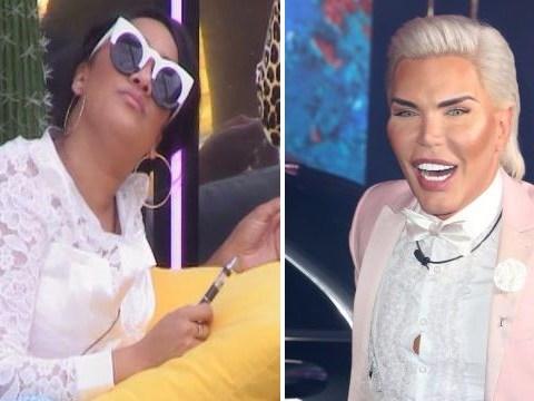 Celebrity Big Brother's Rodrigo Alves schools Natalie Nunn on gender fluidity