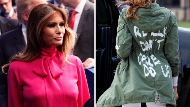 White House aide says Melania Trump's clothes are chosen to 'punish' Donald