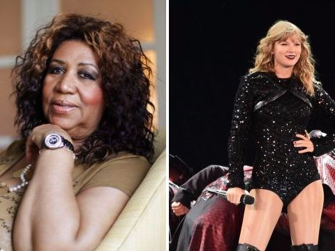 Aretha Franklin's comments on Taylor Swift will go down in Shade Hall of Fame
