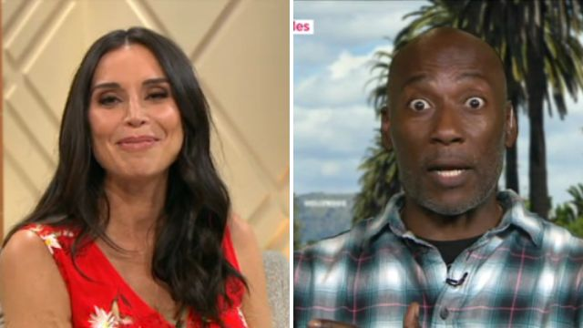Christine Lampard left scrambling as over-excited guest drops f-bomb live on air to celebrate Madonna's birthday