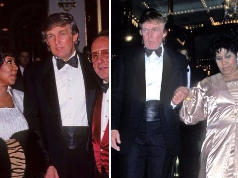 Donald Trump reminds everyone how Aretha Franklin once worked for him