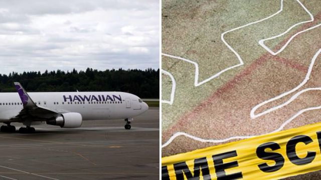 Women spark security scare after sharing crime scene photos on plane
