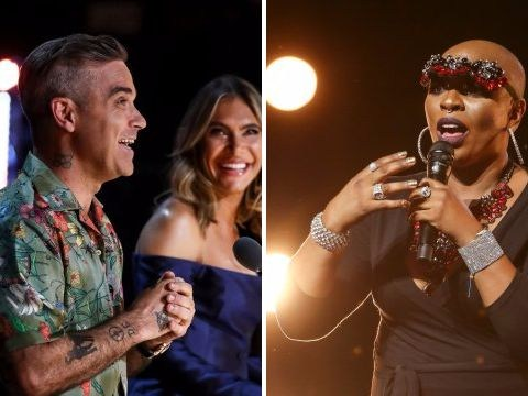 X Factor's Robbie Williams close to tears as 90s dancefloor icon Janice Robinson auditions: 'Your song's a major part of my life'