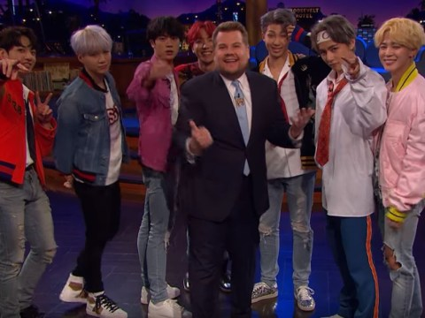 James Corden asks BTS to film Carpool Karaoke because he loves Serendipity so much