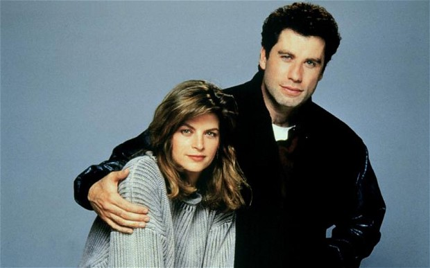 Kirstie Alley and John Travolta