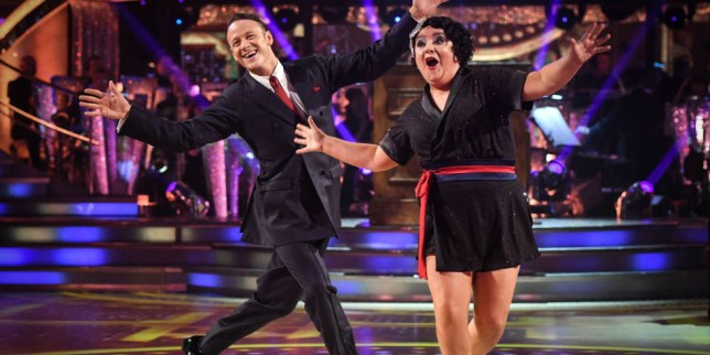 d4a717908ff Kevin Clifton was paired with Susan Calman on last year s series (Picture   BBC)