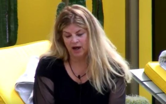 Kirstie Alley on CBB