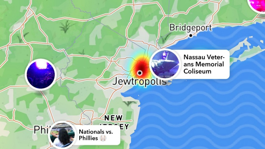 New York renamed 'Jewtropolis' on Snapchat in 'disgusting' attack