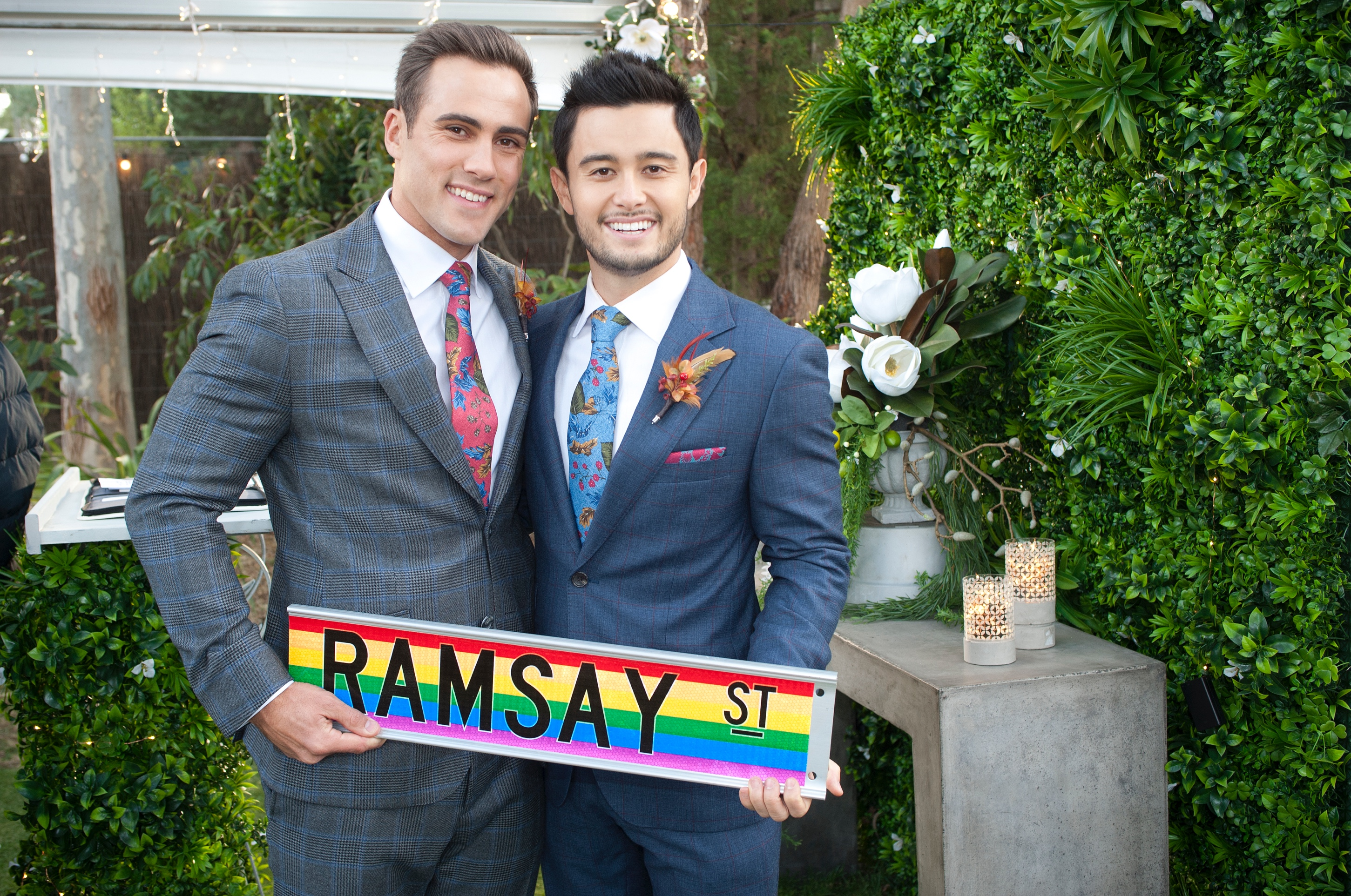 Neighbours spoilers: David actor Takaya Honda reveals 'honour' of being part of first gay wedding as he teases babies for David and Aaron