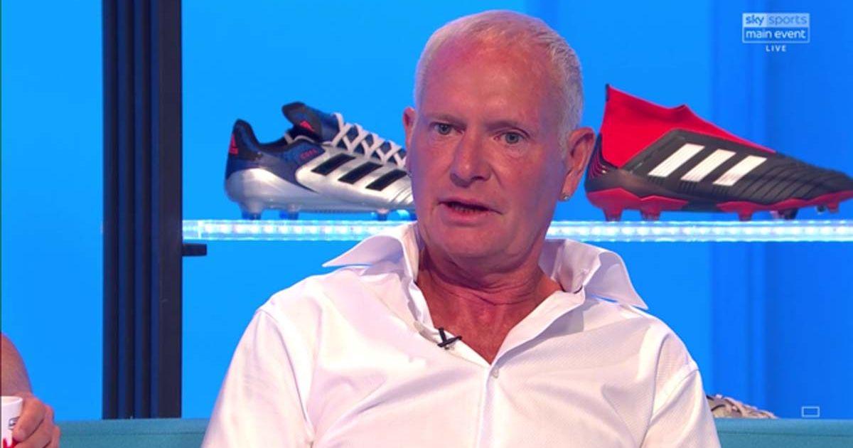 Paul Gascoigne on Soccer AM