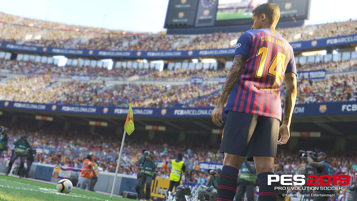 PES 2019 hands-on preview – emphasis on realism in a more polished year for the franchise