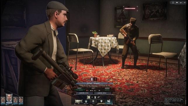 Phantom Doctrine (PS4) - the man from XCOM