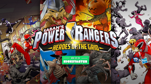 Power Rangers board game Kickstarter reaches funding within eight hours