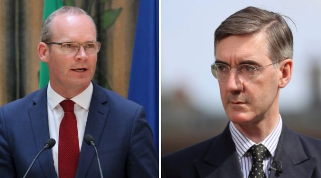 Jacob Rees-Mogg filmed suggesting 'inspections' of people at Northern Ireland border after Brexit