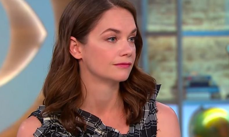 Ruth Wilson close to tears as she claims she's 'not allowed to say' why she wanted to leave The Affair