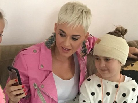 Katy Perry leaves no fan behind as she pays home visit to fan who missed her show after being diagnosed with brain tumour