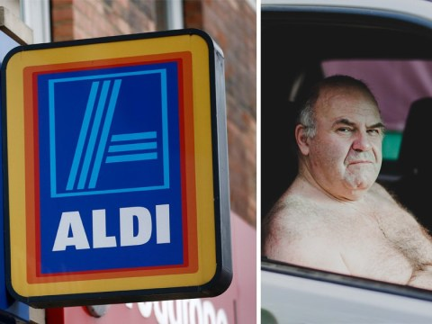 Aldi tells topless Welshmen they're a hygiene risk
