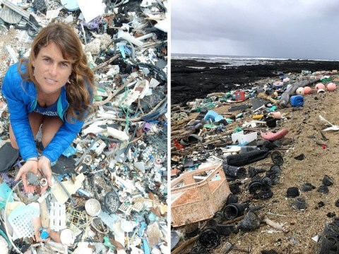 Plastic bags dumped in the sea linked to climate change in new research
