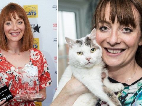 Cat saved owner's life by not letting her fall asleep when she had a blood clot