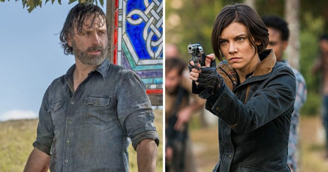 The Walking Dead fan theory which ties Maggie and Rick exits together