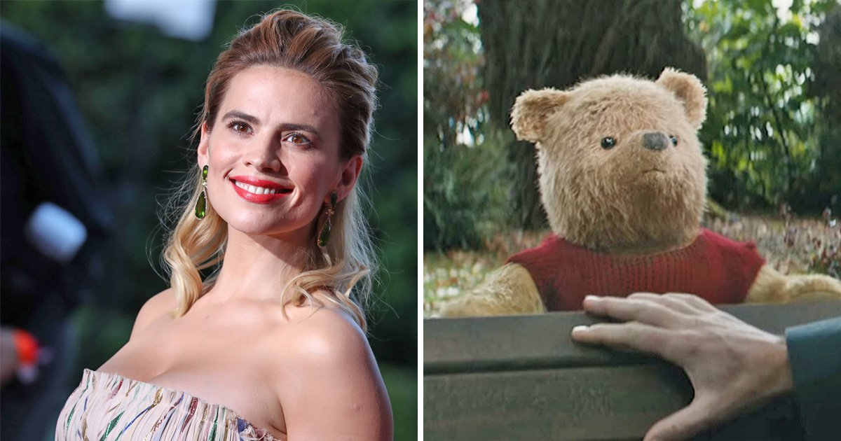 Hayley Atwell had to find wifi in the sea to accept Christopher Robin role