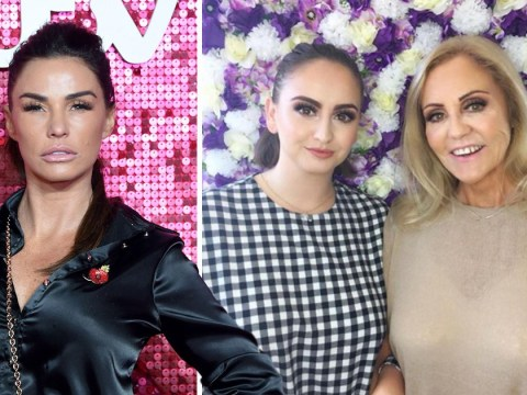 Katie Price sends fans wild with rare photo of her mum and sister: 'You can tell where you got your looks from'