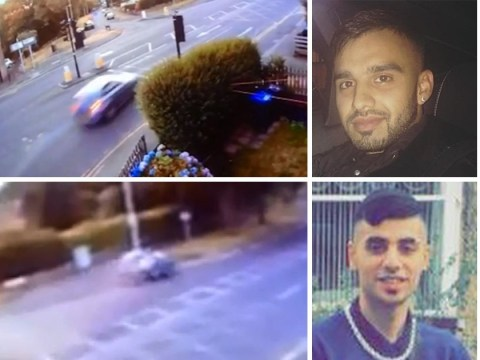 Footage emerges of 'terrifying BMW crash in Bradford' that killed four men