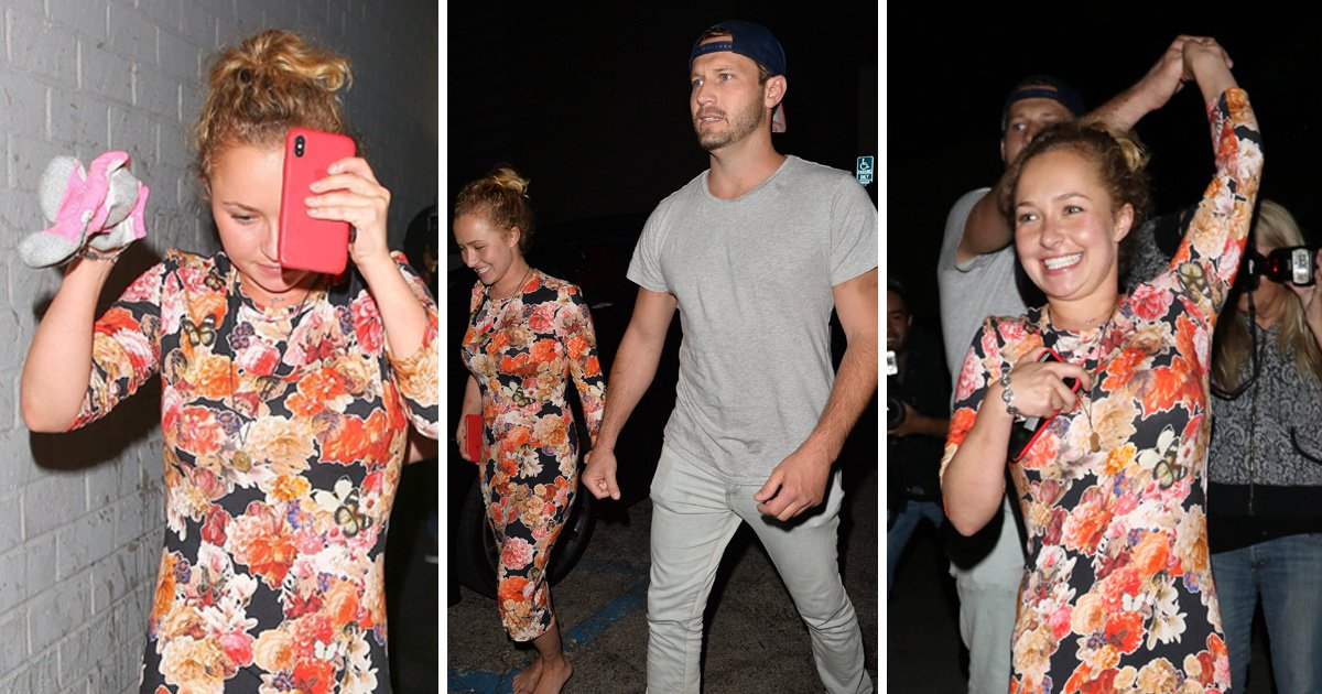 Hayden Panettiere 'splits with fiancee Wladimir Klitschko' after 5 years as she holds hands with man