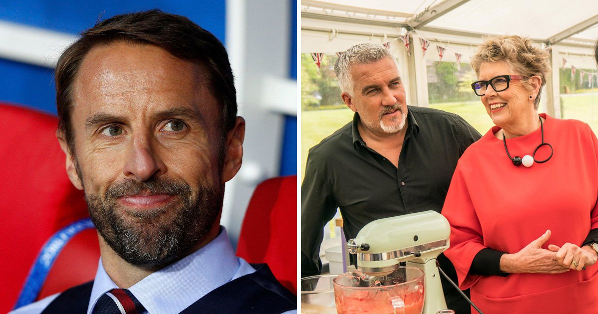 Gareth Southgate eyes up plan B with Great British Bake Off role after failing to bring home World Cup