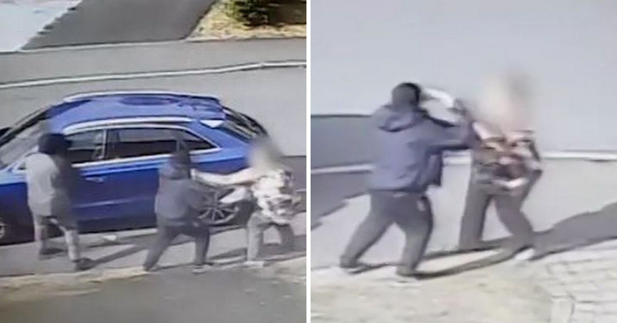 Brave gran fights off two violent carjackers using her fists and handbag